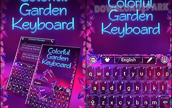 Colorful garden go keyboard
