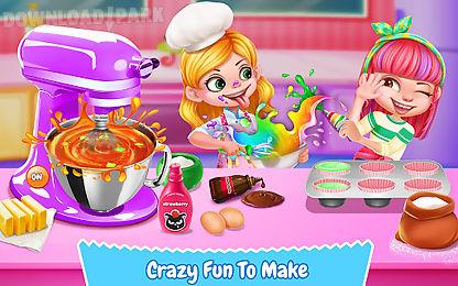 cupcake maker! rainbow chef