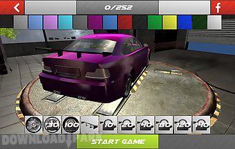 Drift simulator - modified car
