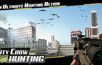 City crow hunting : adventure