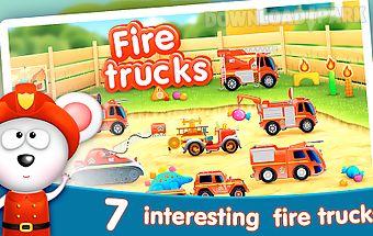 Firetrucks: rescue for kids