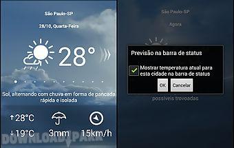 Tempo agora - 10 days forecast