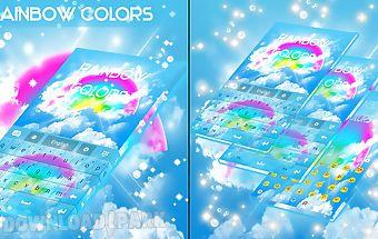 Rainbow colors go keyboard