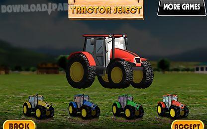 tractor parking 3d farm driver
