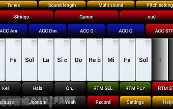 Arabic dance music simulator