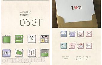 Lovely drawings dodol theme