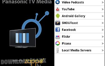 Panasonic tv media player