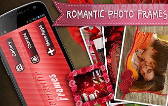 Romantic photo frames