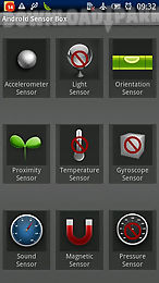 sensor box for android
