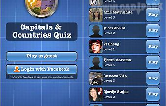Capitals and countries quiz free