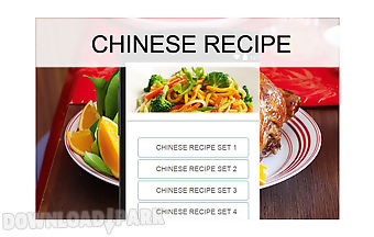 Chinese recipes food