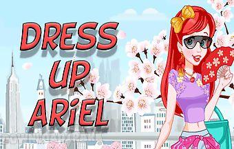 Dress up ariel princess to rest