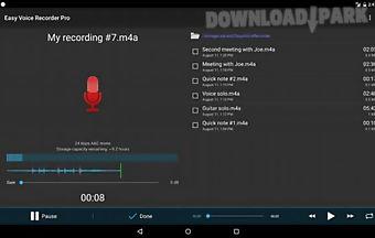 Easy voice recorder pro professi..