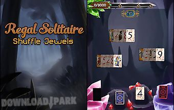 Regal solitaire: shuffle jewels