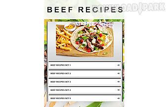 Beef recipes 2