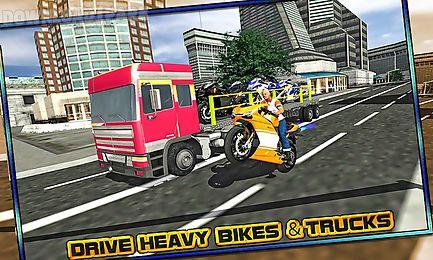 bike transporter big truck