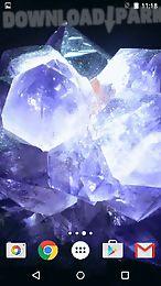 crystals by fun live wallpapers