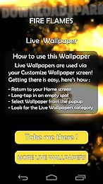 fire flames 3d live wallpaper