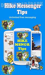 hike messenger tips