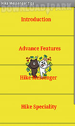 hike messenger tips