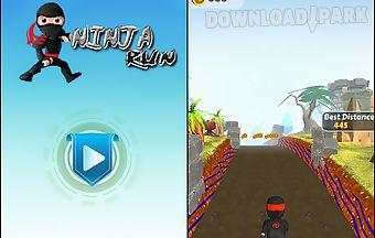 Ninja running games 3d