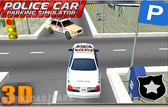 Police car parking simulator