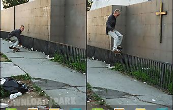 Skater smith grind live wallpape..