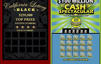Super lotto scratcher