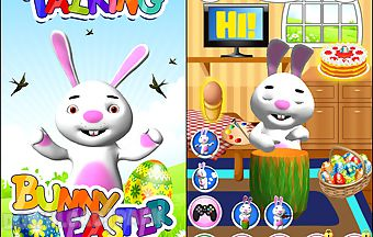 Talking bunny easter