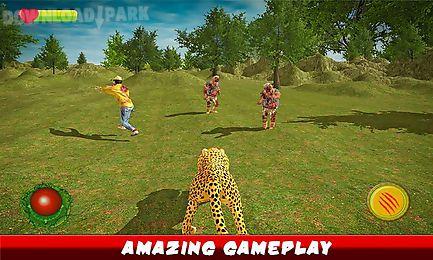 ultimate cheetah vs zombies