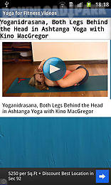 yoga for fitness videos