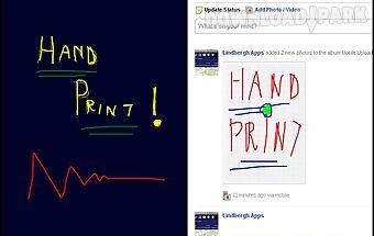 Handprint notepad