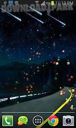 meteors free live wallpaper