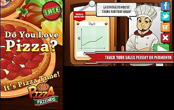 Pizza - fun food cooking game