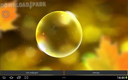 autumn bubbles lwp