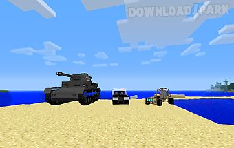 Cars mods for minecraft pe