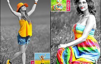 Color splash photo