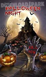 halloween night go theme