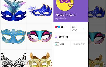 Masks stickers