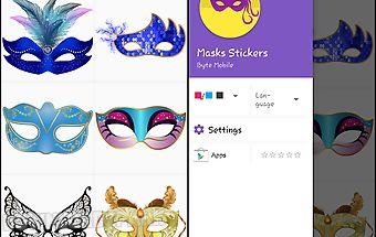 Masks stickers