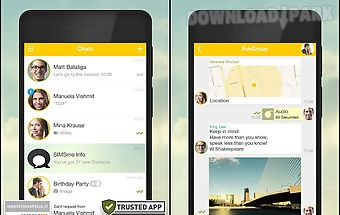 Simsme – your secure messenger