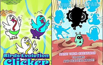 Birds evolution: clicker game