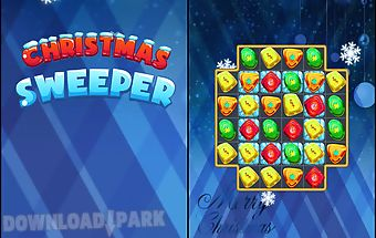 Christmas sweeper gems