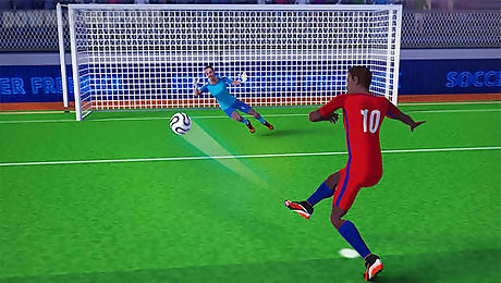 freekick champion: soccer world cup