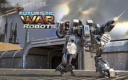futuristic war robots