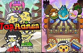 Tap ramen: idle clicker game