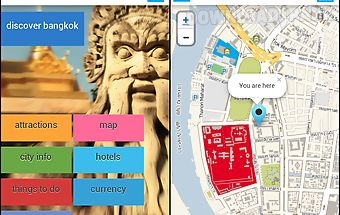 Bangkok offline map guide tour