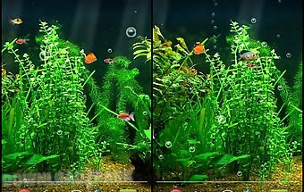 Fishbowl hd live wallpaper