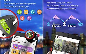 Toss - multi media messenger