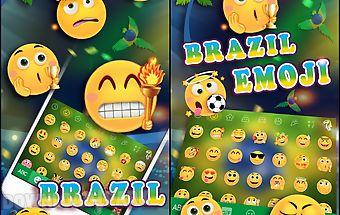 Brazil emoji1 kika keyboard